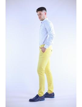 Camisa Slim Fit blanca con estampado