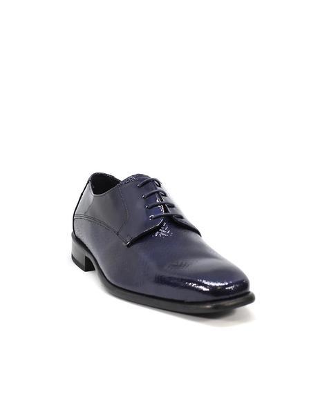 Zapato charol Conti Ferrati 3782 marino para hombre