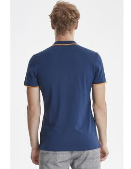 Polo denim Blend azul